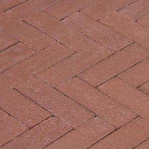 Клинкерная тротуарная брусчатка Penter Bruno, 240*65*85 мм