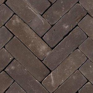 Клинкерная тротуарная брусчатка Penter Nostalgie wasserstrich tumbled, 200*65*65 мм