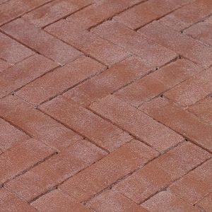 Клинкерная тротуарная брусчатка Penter Bruno, 200*65*85 мм