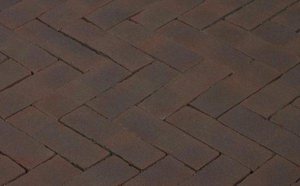 Клинкерная тротуарная брусчатка Penter Omber, 200*65*85 мм