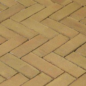 Клинкерная тротуарная брусчатка Penter Brons wasserstrich, 200*65*85 мм