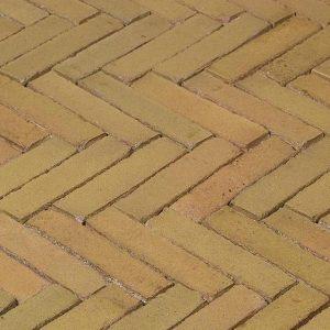 Клинкерная тротуарная брусчатка Penter Brons wasserstrich, 200*50*85 мм