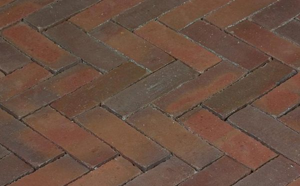 Клинкерная тротуарная брусчатка Penter Novoton wasserstrich, 200*65*85 мм