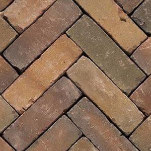 Клинкерная тротуарная брусчатка Penter Varia wasserstrich tumbled, 200*65*65 мм