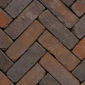 Клинкерная тротуарная брусчатка Penter Gasol wasserstrich tumbled, 200*65*85 мм