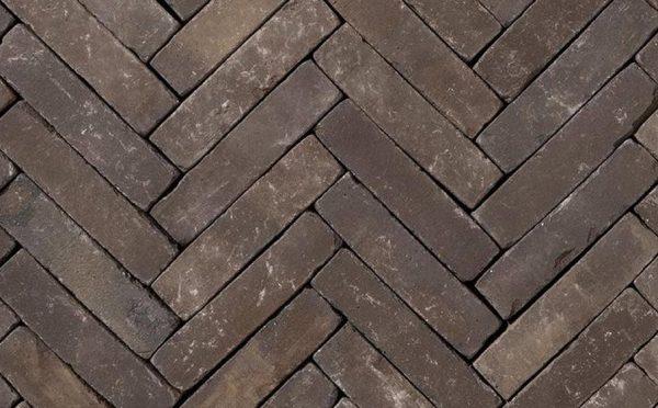 Клинкерная тротуарная брусчатка Penter Nostalgie wasserstrich tumbled, 200*50*65 мм