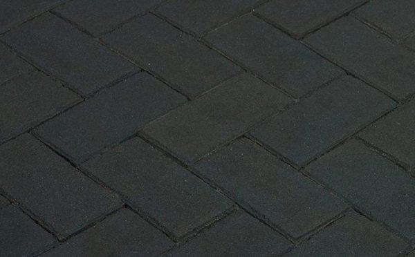 Клинкерная тротуарная брусчатка Penter Nero, 200*100*70 мм