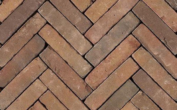 Клинкерная тротуарная брусчатка Penter Varia wasserstrich tumbled, 200*50*65 мм