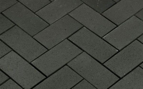 Тротуарная клинкерная брусчатка Penter Baltic Klinker Pavers Grafit, 200*100*52 мм