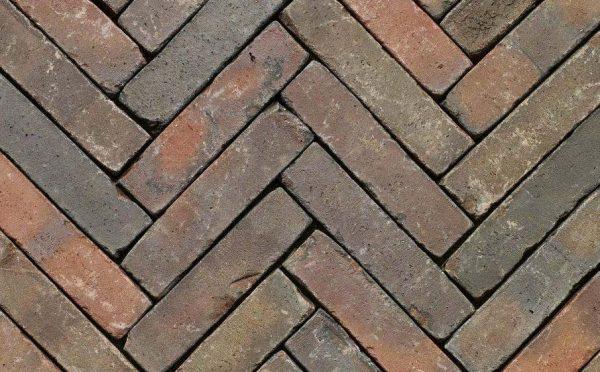 Клинкерная тротуарная брусчатка Penter Gasol wasserstrich tumbled, 200*50*85 мм