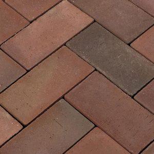 Тротуарная клинкерная брусчатка Penter Wismar, 200*100*52 мм