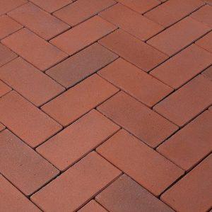 Тротуарная клинкерная брусчатка Penter Heide, 240*118*52 мм