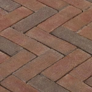 Клинкерная тротуарная брусчатка Penter Ravenna, 200*65*85 мм