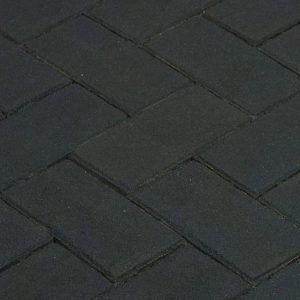 Клинкерная тротуарная брусчатка Penter Nero, 200*100*80 мм