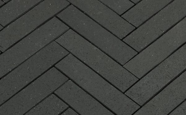 Тротуарная клинкерная брусчатка Penter Baltic Klinker Pavers Grafit, 250*60*52 мм