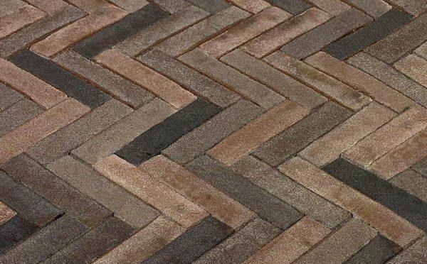 Клинкерная тротуарная брусчатка Penter Basalt, 200*50*85 мм