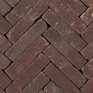 Клинкерная тротуарная брусчатка Penter Violetta tumbled, 200*50*85 мм