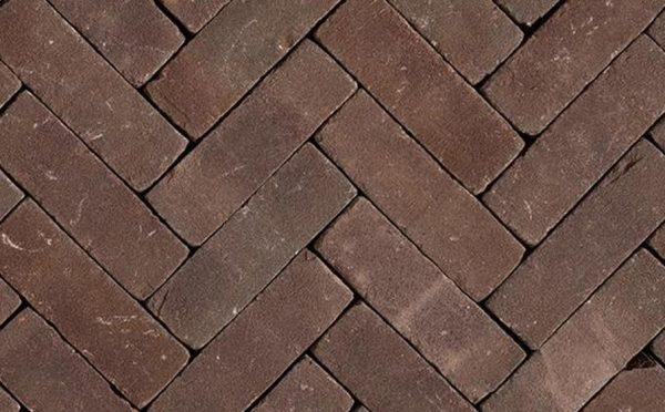Клинкерная тротуарная брусчатка Penter Violetta tumbled, 200*65*85 мм