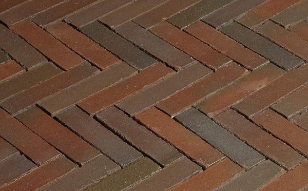 Клинкерная тротуарная брусчатка Penter Novoton wasserstrich, 200*50*85 мм