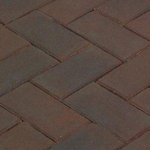 Клинкерная тротуарная брусчатка Penter Omber, 200*100*80 мм