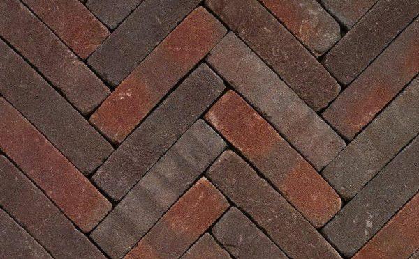 Клинкерная тротуарная брусчатка Penter Qualiton mix tumbled, 200*50*65 мм