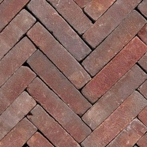 Клинкерная тротуарная брусчатка Penter Ruston tumbled, 200*50*65 мм
