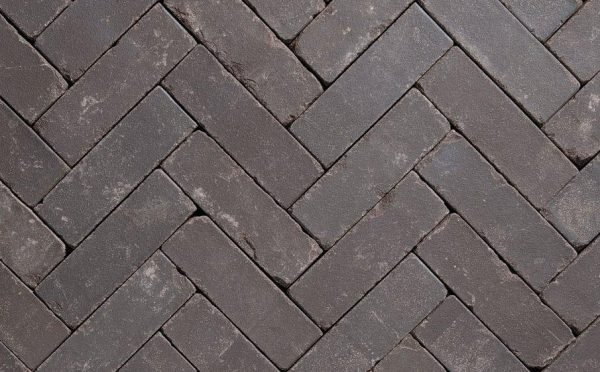Клинкерная тротуарная брусчатка Penter Eros onbezand tumbled, 200*65*65 мм