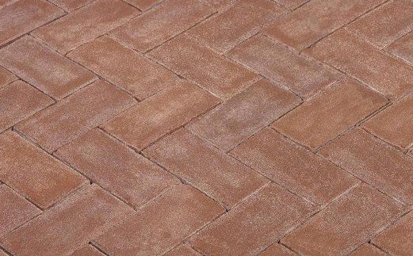 Клинкерная тротуарная брусчатка Penter Bruno, 200*100*80 мм