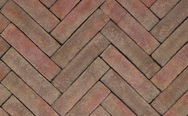 Клинкерная тротуарная брусчатка Penter Novoton, 200*50*65 мм