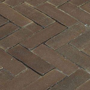 Клинкерная тротуарная брусчатка Penter Mastiek wasserstrich, 200*65*85 мм