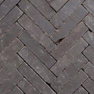 Клинкерная тротуарная брусчатка Penter Eros onbezand tumbled, 200*50*65 мм