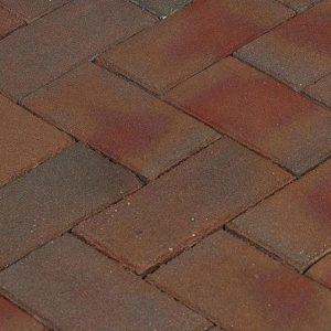 Клинкерная тротуарная брусчатка Penter Padova, 200*100*70 мм