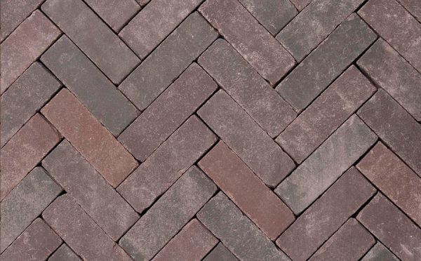 Клинкерная тротуарная брусчатка Penter Doris onbezand tumbled, 200*65*65 мм