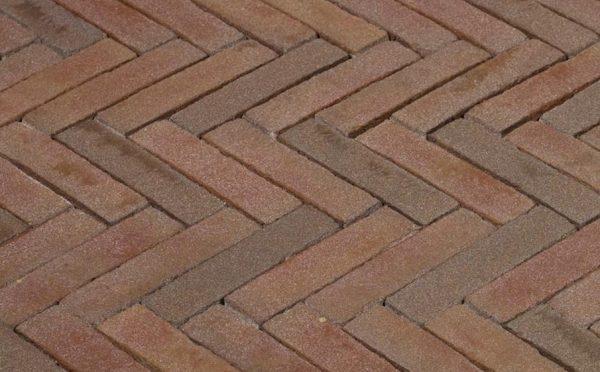 Клинкерная тротуарная брусчатка Penter Ravenna, 240*65*80 мм