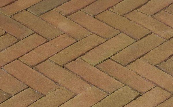 Клинкерная тротуарная брусчатка Penter Varia Puur wasserstrich, 200*65*85 мм