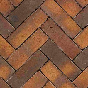 Клинкерная тротуарная брусчатка Penter Zonnebloem wasserstrich, 200*65*85 мм