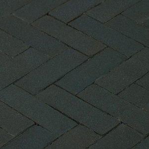 Клинкерная тротуарная брусчатка Penter Nero, 200*65*85 мм
