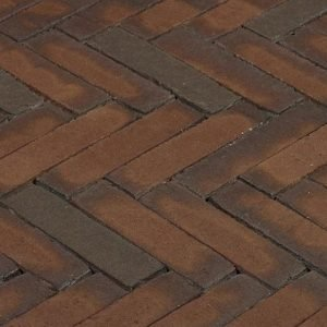 Клинкерная тротуарная брусчатка Penter Gala wasserstrich, 200*50*85 мм