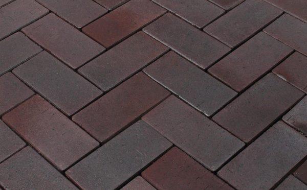 Тротуарная клинкерная брусчатка Penter Potsdam, 200*100*52 мм