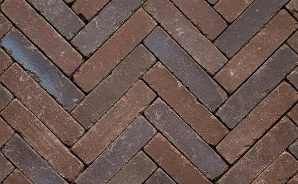 Клинкерная тротуарная брусчатка Penter Doris onbezand tumbled, 200*50*65 мм