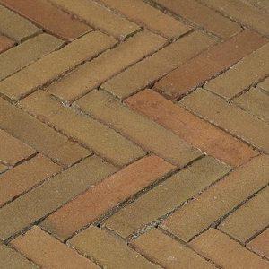 Клинкерная тротуарная брусчатка Penter Varia Puur wasserstrich, 200*50*85 мм