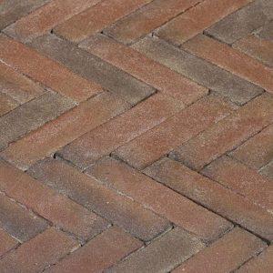 Клинкерная тротуарная брусчатка Penter Ravenna, 200*50*85 мм