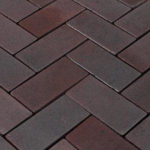 Тротуарная клинкерная брусчатка Penter Potsdam, 240*118*52 мм