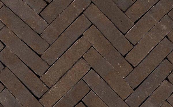 Клинкерная тротуарная брусчатка Penter Nostalgie wasserstrich, 200*50*65 мм
