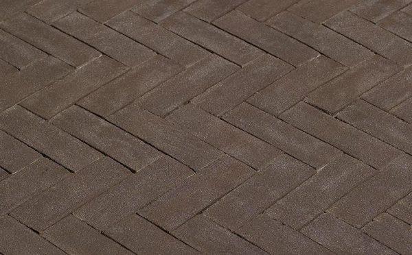 Клинкерная тротуарная брусчатка Penter Antraton, 200*50*65 мм