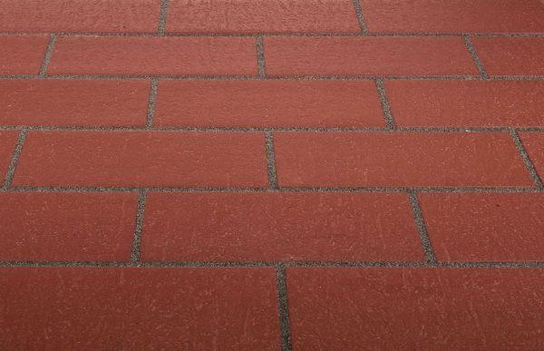 Тротуарная клинкерная плитка Stroeher 215 patrizierrot, 240x115x18 мм