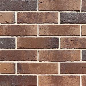Кирпич керамический полнотелый Konigstein Мангейм Сепия, 250*120*65 мм