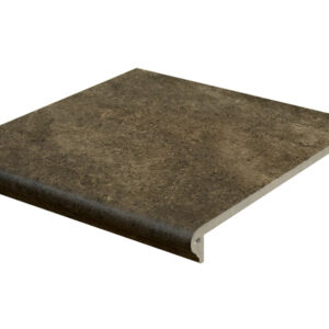 Ступень с капиносом Interbau Abell 272 Орехово-коричневый 310x320 мм