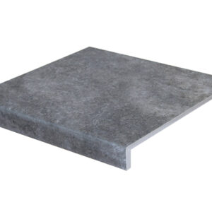 Ступень кантиковая Модерн Interbau Abell 273 Графитово-серый 310x304 мм