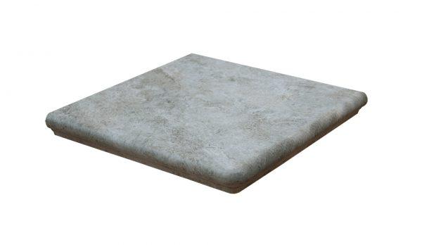 Ступень угловая Interbau Abell 274 Серебристо-серый 320x320x9,5 мм